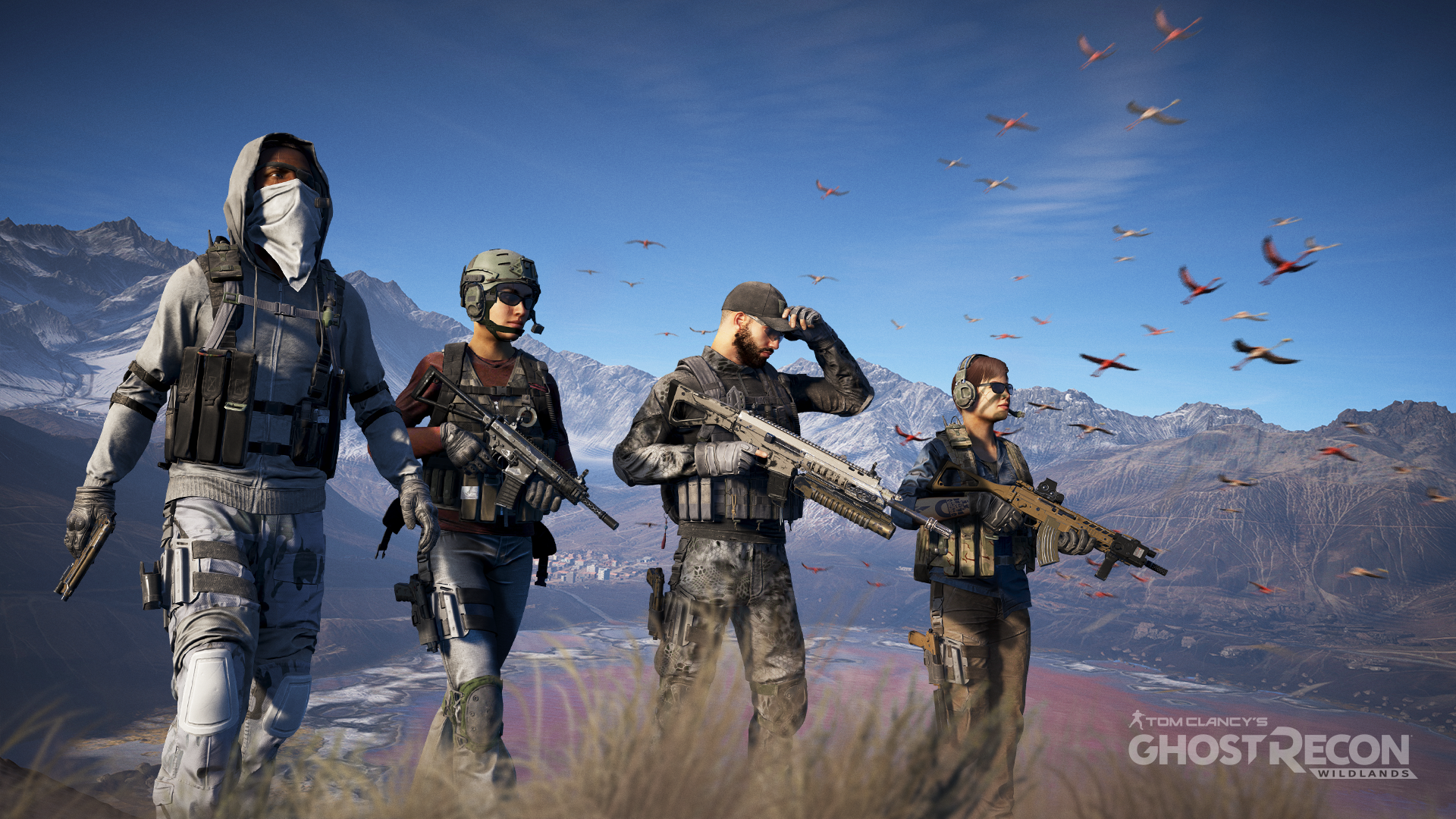 ОБТ Tom Clancy's Ghost Recon Wildlands началось