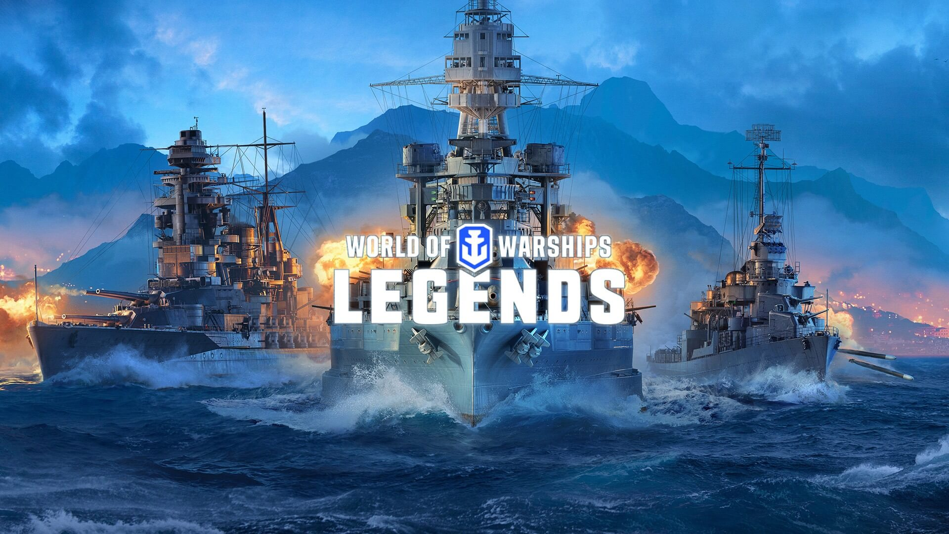 Раний доступ World of Warships: Legends начался!